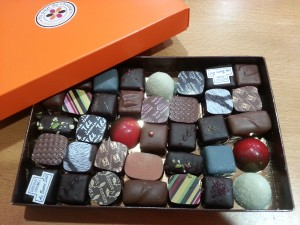 350g chocolats
